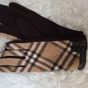 Winter driving dress gloves